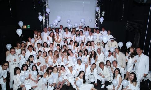 bf9b7dc198314  写真 2018年5月4日(金・祝) ホワイトパーティー@銀座の開催報告. 2018.05.04 white-party